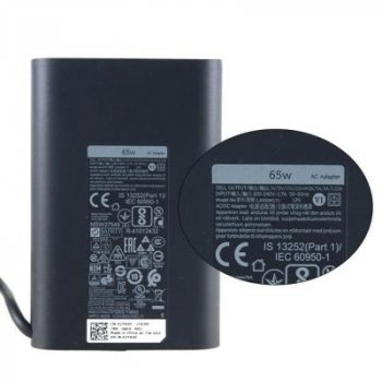 Блок живлення до ноутбука Dell 65W Oval 20V роз'єм Type-C (HA65NM170 / A40243)