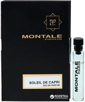 Пробник Туалетная вода унисекс Montale Soleil De Capri 2 мл (ROZ6205052663)