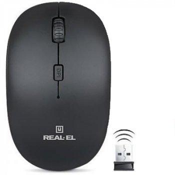 Миша REAL-EL RM-301 Wireless black