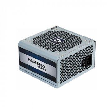 Блок живлення Chieftec 500W GPC-500S, 12cm fan, a/PFC,24+4,2 xPeripheral,4xSATA,1xPCIe