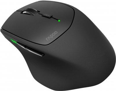 Мышь Rapoo MT 550 USB Black