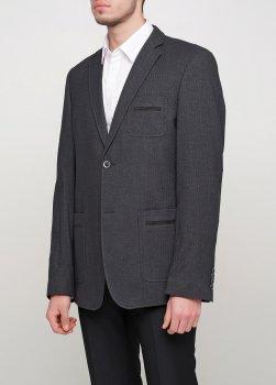 Мужской пиджак Mia-Style MIA-287/01 черный