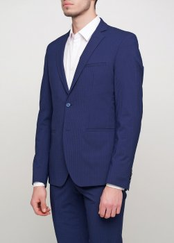 Мужской костюм Mia-Style MIA-304/01 темно-синий