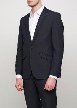 Чоловічий костюм Mia-Style MIA-247/03 чорний