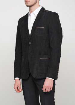 Чоловічий піджак Mia-Style MIA-283/08 чорний