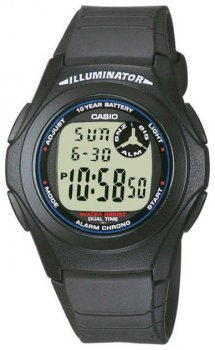 Наручные мужские часы Casio F-200W-1AEF