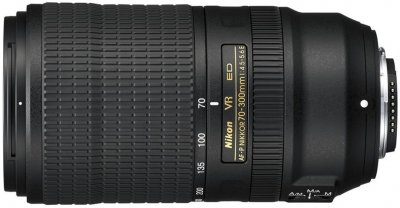 Nikon AF-P Nikkor 70-300 mm f/4.5-5.6E ED VR (JAA833DA) Офіційна гарантія!