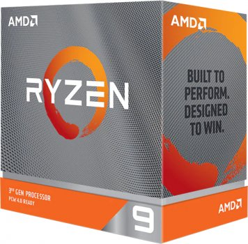 Процесор CPU AMD 16C/32T Ryzen 9 3950X 3,5GHz-4,7GHz(Turbo)/70MB/105W Cooler Not Included, Liquid Cooling Recommended (100-100000051WOF) sAM4 BOX