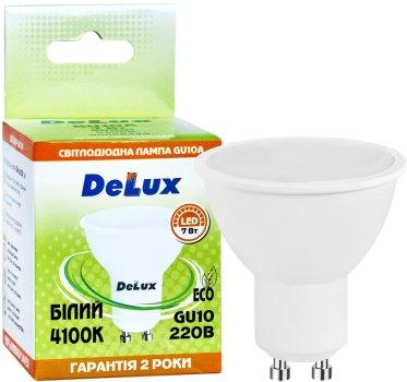 Светодиодная лампа Delux GU10A 7Вт 4100K 220В GU10 (90008349)