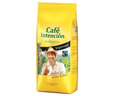 Кофе J.J.Darboven CAFE INTENCION Ecologico Espresso в зернах 1000 г