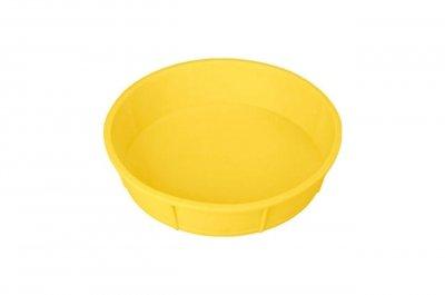 Форма для випічки Empire 240х55мм Пиріг круглий Силікон Жовтий (9830) 000062010db2b