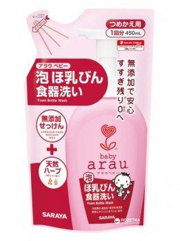 Наполнитель средства для мытья детской посуды Arau Baby 450 мл (4973512258206)