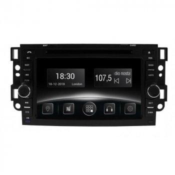 Штатная магнитола Gazer CM5007-T200 Chevrolet Epica Captiva Aveo 2002-2011 (26992)