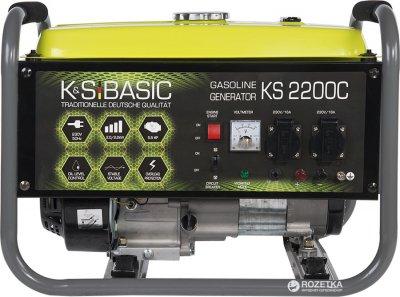 Генератор бензиновый Konner&Sohnen BASIC KSB 2200C