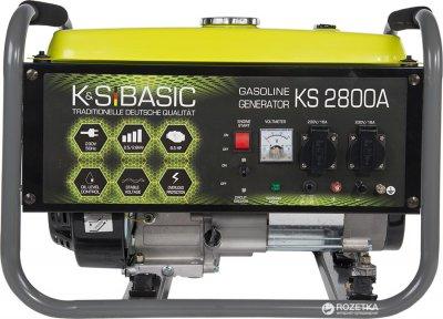 Генератор бензиновый Konner&Sohnen BASIC KSB 2800A