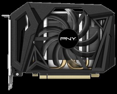 Відеокарта PNY GeForce GTX 1660 SUPER OC Single Fan 6Gb 192-bit (VCG16606SSFPPB)