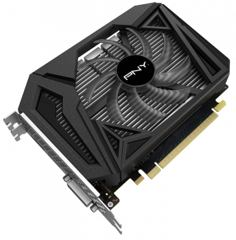 Відеокарта PNY GeForce GTX 1650 SUPER Single Fan 4096MB (VCG16504SSFPPB)