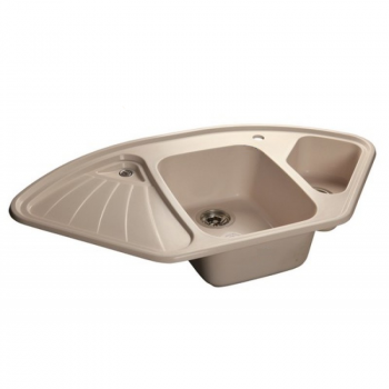 Кухонна мийка AQUAMARIN TERA 106-60 BG Бежевий