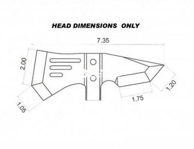 Туристический топор TOPS Knives IDT Axe IDT-01 (2000980421602)