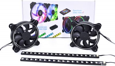 Набор подсветки для корпуса QUBE RGB Rainbow Spectrum Kit v02 (RGB_SPECTRUM_KITv02)