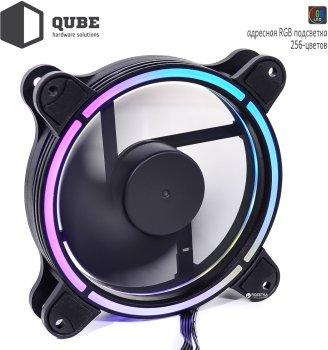 Вентилятор QUBE RGB Rainbow Spectrum 256C 120 мм 18 LED (QB-SPECTRUM-120-18)