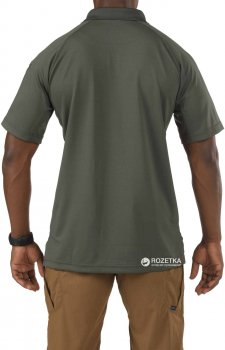 Футболка-поло тактична 5.11 Tactical Performance Polo - Short Sleeve, Synthetic Knit 71049 TDU Green