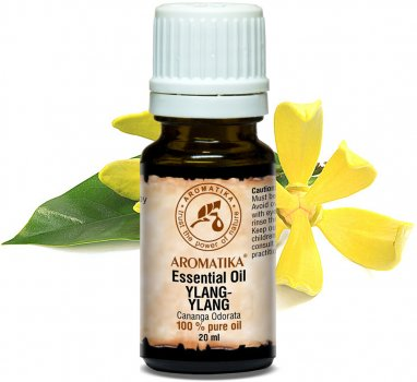 Эфирное масло иланг-иланговое Ароматика Ylang-Ylang Essential Oil 20 мл (4820177023055)
