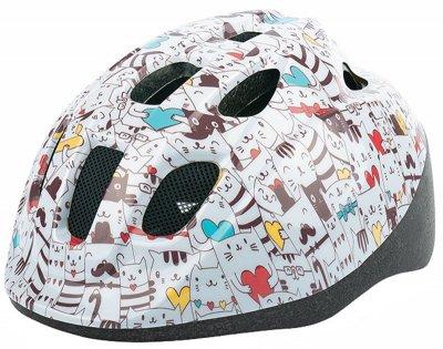 Велосипедний шолом Polisport JUNIOR CATS multicolor / Розмір 52-56 см (8740400018)