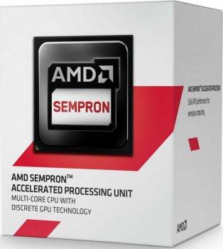 Процесор AMD Sempron X2 2650 AM1 BOX (SD2650JAHMBOX)