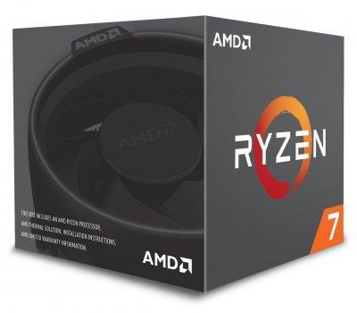 Процесор s-AM4 AMD Ryzen 7 2700 BOX (YD2700BBAFBOX)