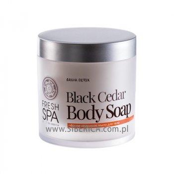 Мыло SIBERICA PROFESSIONAL FRESH SPA BLACK CEDAR BODY 400 мл (4744183014343)