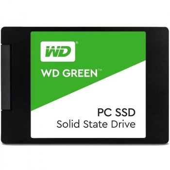 "Накопичувач SSD 120GB WD Green 2.5"" SATAIII TLC (WDS120G2G0A)"