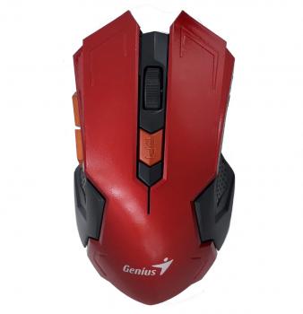 Мышка беспроводная оптическая Genius DX-410 Красный
