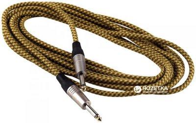 Інструментальний кабель RockCable RCL30203 TC 3 м Gold Tweed (RCL30203 TC D/GOLD)