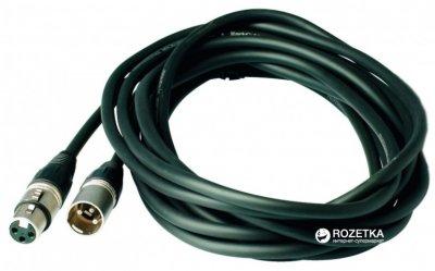 Мікрофонний кабель RockCable RCL30303 D7 3 м Black (RCL30303 D7)