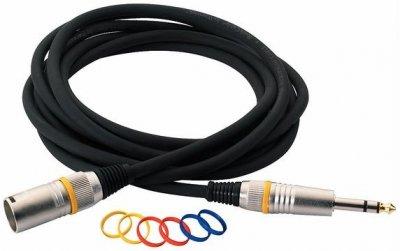 Мікрофонний кабель RockCable RCL30383 D6M BA 3 м Black (RCL30383 D6M BA)