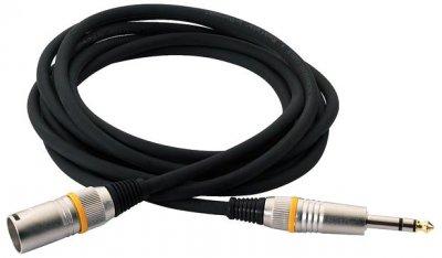 Мікрофонний кабель RockCable RCL30383 D7M BA 3 м Black (RCL30383 D7M BA)