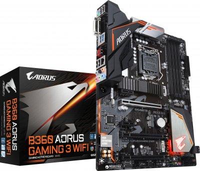 Материнская плата Gigabyte B360 Aorus Gaming 3 Wi-Fi (s1151, Intel B360, PCI-Ex16)
