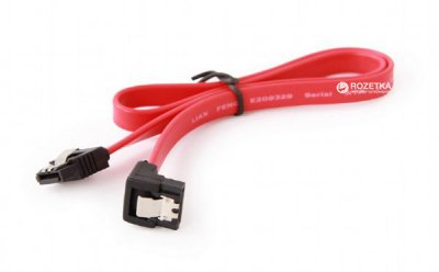 Кабель Cablexpert SATA з кутовим роз'ємом 0.5 м (CC-SATAM-DATA90)