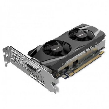Видеокарта PCI-E 4Gb GeForce GTX1050 Ti (DDR5) Zotac (ZT-P10510E-10L)