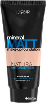 Матирующий тональный крем Ingrid Ideal Mat с минералами и натуральным увлажняющим компонентом 30 мл 303 Dark natural (5902026633987)