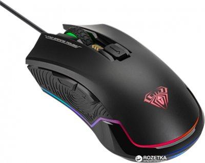Миша Aula Nomad USB Black (6948391212098)