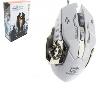 Игровая мышь с RGB подсветкой Zornwee Z32, Серый