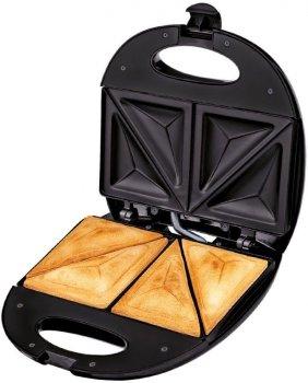 Сендвіч-тостер для бутербродів MPM MOP-12M black 750Вт Польща (GF-007)