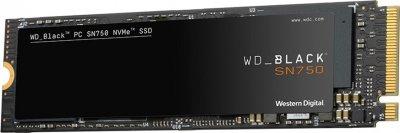 Western Digital Black SN750 NVMe SSD 2TB M. 2 2280 PCIe 3.0 x4 3D NAND TLC (WDS200T3X0C)