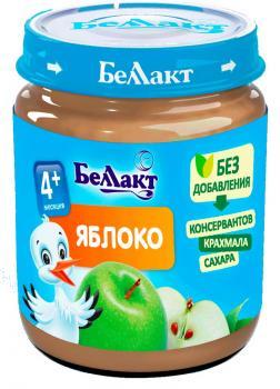 Пюре Беллакт Яблуко, 100 г (250171)