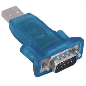 Адаптер USB to RS-232 Converter (9 pin), переходник, Blister (00756)