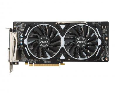 Відеокарта AMD Radeon RX 580 8Gb GDDR5 Armor MSI OC (Radeon RX 580 ARMOR 8G OC)