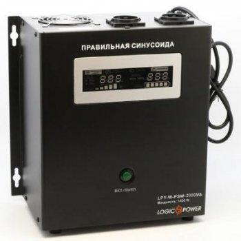 Джерело безперебійного живлення LogicPower LPY - W - PSW-2000VA+, 10А/20А (4146)