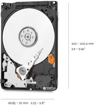 "Жорсткий диск Western Digital Blue 2TB 5400rpm 128MB WD20SPZX 2.5"" SATA III"
